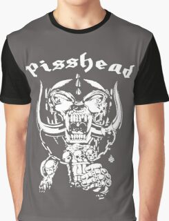 pisshead funny heavy metal Graphic T-Shirt