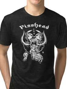 pisshead funny heavy metal Tri-blend T-Shirt