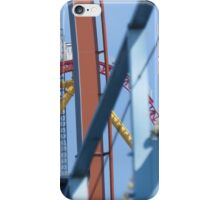 Blue Streak, Valravn, and Top Thrill Dragster iPhone Case/Skin