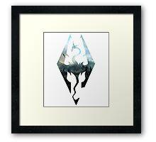 Skyrim Adventurer Framed Print
