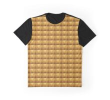 Cracked gold grunge texture Graphic T-Shirt