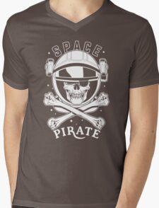 Space Pirate Mens V-Neck T-Shirt