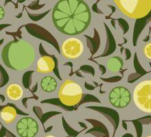 Lemon and Lime Sticker