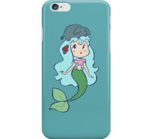 Mermaid and Tiny Elephant iPhone Case/Skin