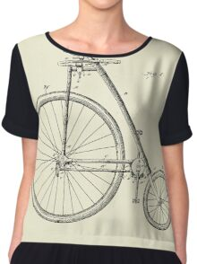 Bicycle-1899.  Chiffon Top