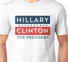 Retro Hillary Clinton for President Unisex T-Shirt