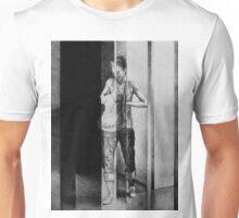 Passenger, 2016, 50-38 cm, graphite crayon on paper Unisex T-Shirt