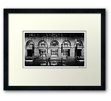 In Perth City Framed Print