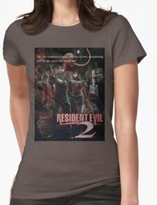 Resident Evil 2 Womens Fitted T-Shirt