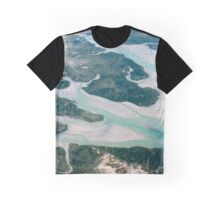 Aerial Photography Western Australia Graphic T-Shirt