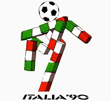 Italia 90 World Cup Ciao Mascotte and write (B) Unisex T-Shirt