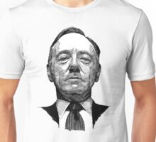 "Frank Underwood - ""Au trait"" Unisex T-Shirt"
