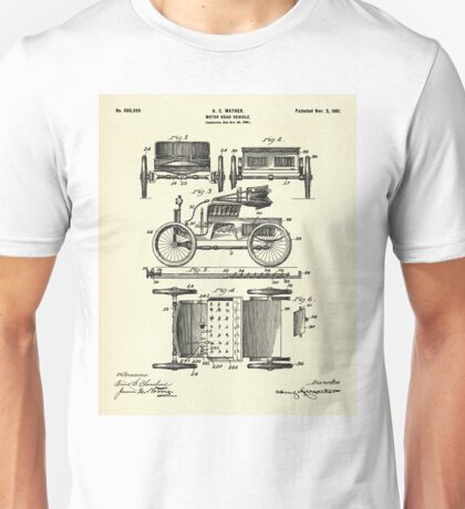 Motor Road Vehicle-1901 Unisex T-Shirt