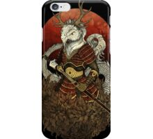 Dragon Samurai - Colour iPhone Case/Skin