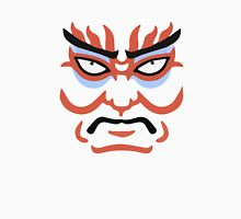 Japanese Kabuki Mask Graphic Design Novelty Unisex T-Shirt