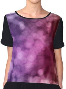 bokeh background Chiffon Top
