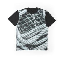 Net and Rope Graphic T-Shirt