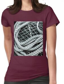 Net and Rope Womens Fitted T-Shirt