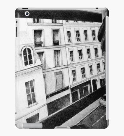 Paris Street View, 2011, 50-70cm, graphite crayon iPad Case/Skin