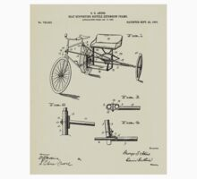 Seat Supporting Bicycle Extension Frame-1903 Baby Tee