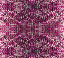 Pink Knitted Jumper Sticker