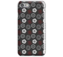 Symbols Pattern iPhone Case/Skin