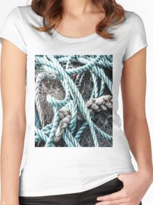 Rope on Net Women's Fitted Scoop T-Shirt