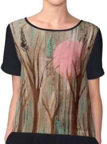 Obscure Thoughts Chiffon Top