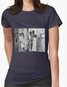 Looking Outside Inside, 2016, 50-65cm, graphite crayon on paper Womens Fitted T-Shirt