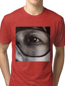 Lens, 100-100cm, 2010, oil on canvas Tri-blend T-Shirt