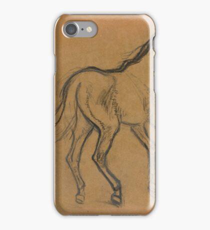 Edgar Degas  ETUDE DE CHEVAL iPhone Case/Skin