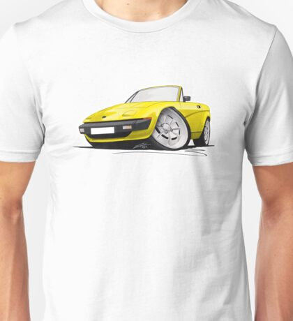 Triumph TR7 DHC Convertible Yellow Unisex T-Shirt