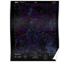 USGS TOPO Map Alabama AL Triana 20110921 TM Inverted Poster
