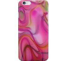 Digital soft abstract pattern iPhone Case/Skin