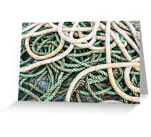 Loops of Rope Greeting Card