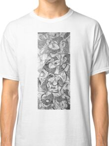 Infinite reality, 2015, 20-50cm, ink on paper Classic T-Shirt