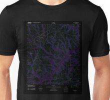 USGS TOPO Map Alabama AL Headland 20110912 TM Inverted Unisex T-Shirt