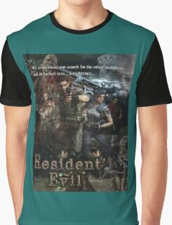 Resident Evil 1 Graphic T-Shirt