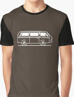 Drive by Bus 3 (white, only) Graphic T-Shirt