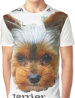 Printing dogs - Yorkshire Terrier Graphic T-Shirt