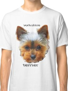Printing dogs - Yorkshire Terrier Classic T-Shirt