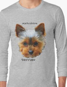 Printing dogs - Yorkshire Terrier Long Sleeve T-Shirt