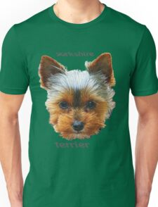 Printing dogs - Yorkshire Terrier Unisex T-Shirt
