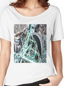 Nets, Rubber and Chain Women's Relaxed Fit T-Shirt