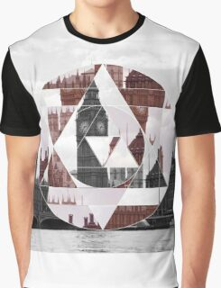 Abstract London Graphic T-Shirt