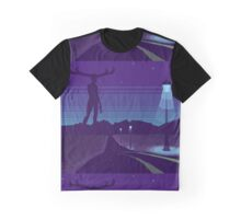 Night road Graphic T-Shirt