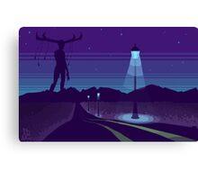 Night road Canvas Print