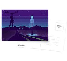 Night road Postcards