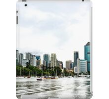 Brisbane City Skyline by Gaye G iPad Case/Skin