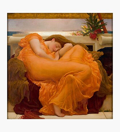 Flaming June, Frederic Leighton  Photographic Print
